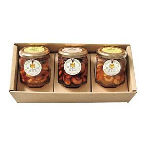 スイーツギフト パティスリーQBG 森のぐだくさんナッツのはちみつ・メープル漬け 3個 (QBG-006) 代引不可 honpo-online