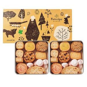 素朴でやさしい味わいが特徴のクッキーアソートです。缶の中にさまざまな形、フレーバーのクッキーを詰め合...