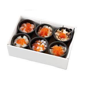 北海道 グルメ くまだ 北の海鮮小鉢(6食セット) 送料無料 代引不可 honpo-online