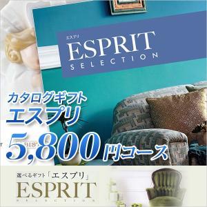カタログギフト エスプリ Esprit カジュアル 5800円コース ハーモニック カタログギフト honpo-online