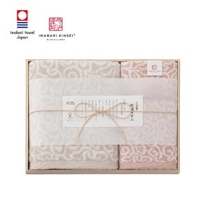 内祝い ギフト 今治謹製 タオルセット (ピンク) (IM7740) honpo-online