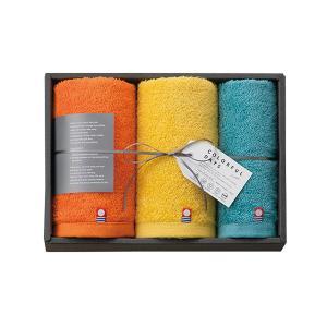 内祝い ギフト|カラフルデイズ タオルセット (オレンジ) (CL2525)|honpo-online