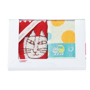 リサ・ラーソン ウォッシュタオル2枚セット(ポップシリーズ/LL-0415) honpo-online