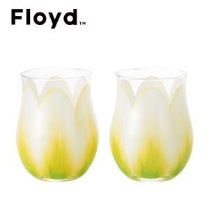 フロイド チューリップグラス2個セット (ホワイト) (FL11-00811)|honpo-online