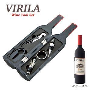 ヴィリーラ ワインボトル型ツール5点セット(VM-9473)||honpo-online