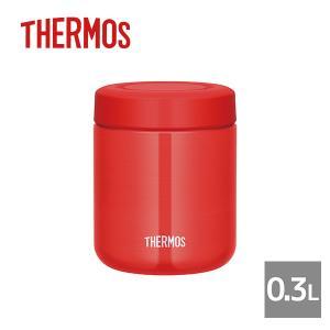 サーモス THERMOS|真空断熱スープジャー 0.3L レッド(JBR-300-R)|ランチジャー お弁当 スープ|honpo-online