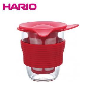 ハリオ HARIO ハンディーティーメーカー (レッド) HDT-M-R honpo-online