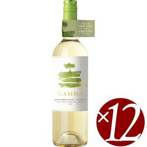 ガンマ オーガニック ソーヴィニヨン・ブラン レセルバ/ベサ 750ml×12本 (白ワイン)|honpo-sakesen