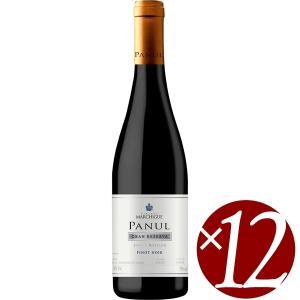 パヌール ピノ・ノワール リザーヴ オーク・エイジド/ビニェードス・エラスリス・オバリェ 750ml×12本 (赤ワイン) honpo-sakesen