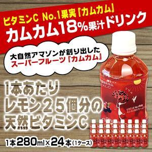 カムカム18%果汁入り飲料24本(1ケース)/アマゾンカムカム社|honpo3boshi