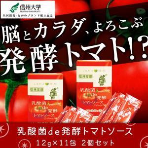 乳酸菌de発酵トマトソース 12g×11包 2個セット|honpo3boshi