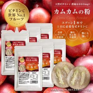 カムカムパウダー 30g×6袋セット 無農薬 粉末 【カムカムの粉】 【送料無料】|honpo3boshi