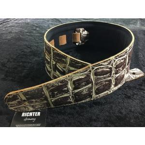 Richter Straps Beaver's Tail Croco Natural 【NEW】【日本総本店ベースセンター 】|honten