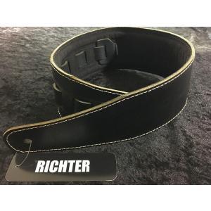 Richter Straps Beaver's Tail Buffalo Black 【NEW】【日本総本店ベースセンター 】|honten