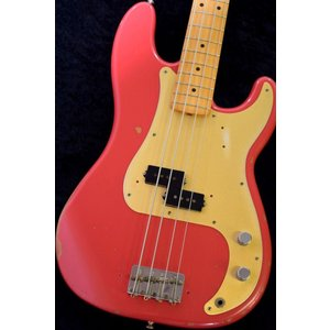 Fender Mexico Road Worn '50s Precision Bass -Fiesta Red- 【NEW】※軽量個体 !【日本総本店ベースセンター 】|honten