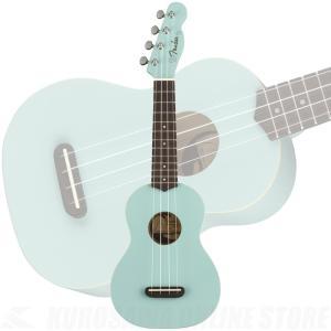 《新生活応援セール!ポイントアップ!》Fender Venice Soprano Ukulele Daphne Blue《ウクレレ》(ご予約受付中)|honten