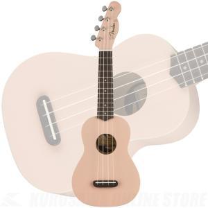 《新生活応援セール!ポイントアップ!》Fender Venice Soprano Ukulele Shell Pink《ウクレレ》(ご予約受付中)|honten