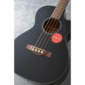 Fender CB-60SCE BLK《アコースティックベース》【送料無料】(ご予約受付中) honten