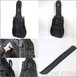 CROSSROCK 3/4 size double bass bag[CRDB206CETBK]【送料無料】|honten