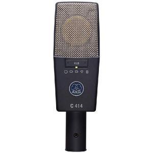 ●AKG C 414 XLS  ・1インチ大口径デュアル・ダイヤフラム搭載。 ・最大音圧レベル140...