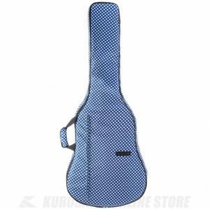 BEAUMONT アコースティックギターバッグ(ブルー・ポルカ・ドット)(アコースティックギター用ギグバッグ) (送料無料) honten