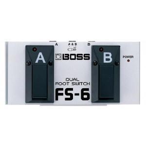 BOSS FS-6 Dual Footswitch デュアル・フット・スイッチ の商品画像|ナビ