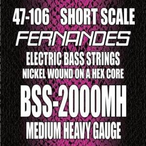 FERNANDES BSS-2000MH ShortScale MediumHavey Gauge 47-106 (次回納期未定・ご予約受付中) (ネコポス) honten