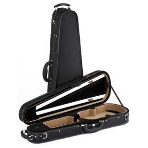 Carlo Giordano カルロ・ジョルダーノ TRC-180 4/4(ブラック)(バイオリン用セミハードケース)(送料無料)|honten