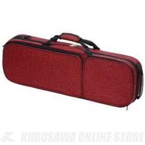 Carlo Giordano OBL-170 4/4 (RED)(バイオリン用軽量セミハードケース)(送料無料)|honten