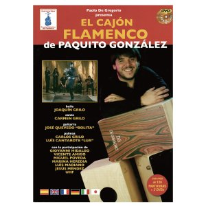 DE GREGORIO CAJON FLAMENCO BOOK (カホン教則本+DVD)|honten