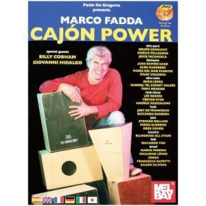 DE GREGORIO CAJON POWER BOOK (カホン教則本+DVD)|honten
