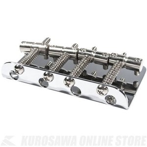 Fender Pure Vintage '70s Jazz Bass Bridge Assembly, Chrome (ベース)(お取り寄せ)|honten