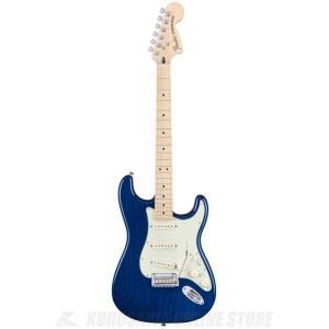 Fender Deluxe Strat, Maple, Sapphire Blue Transpar...