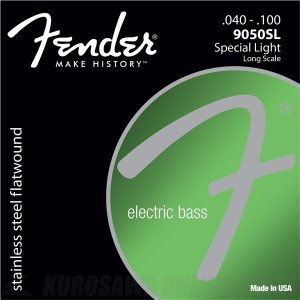 Fender 9050 Stainless Bass Strings(40-100)(ベース弦)(ネコポス)|honten