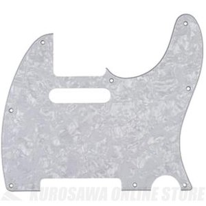Fender Classic 60s Telecaster 8-Hole 4-Ply White Peal Pickguard Made in Japan Model (ピックガード/テレキャスター用)(ご予約受付中)|honten