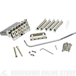 Fender 6-Saddle American Vintage Series Stratocaster Tremolo Assembly (Chrome) (ギターパーツ/ブリッジ)|honten