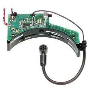 ピエゾPUとコンデンサーマイクのサウンドをシンプルなシステムでミックスできます。サウンドホールふちに...