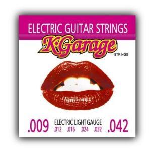 K・GARAGE ギター弦 ライトゲージ(.009-0.42セット) (12セット) (送料無料) honten
