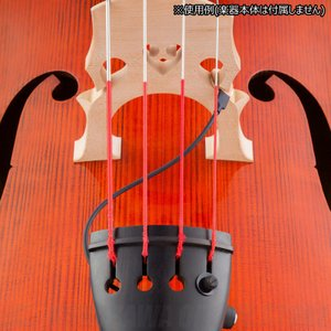 KNA Pickups Pickup DB-1 Portable Piezo Pick-up for Double-bass (コントラバス用ピックアップ)(お取り寄せ)(ご予約受付中) honten
