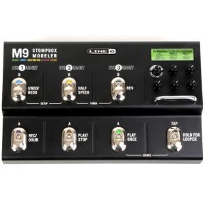 【新春セール!ポイントアップ!】LINE6 M9 Stompbox Modeler [SM9] (マ...