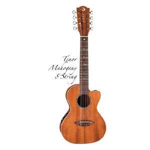 Luna Guitars Uke 8 string High Tide tenor uke mah (8弦ウクレレ)(送料無料) (ご予約受付中)|honten