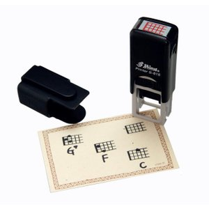 Shiny ウクレレ・コードスタンプ Printer S-815 (ウクレレコードスタンプ)|honten