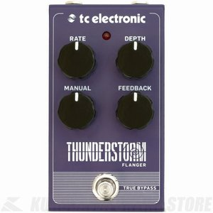 TC ELECTRONIC Thunderstorm Flanger (エフェクター/フランジャー)(マンスリープレゼント)|honten