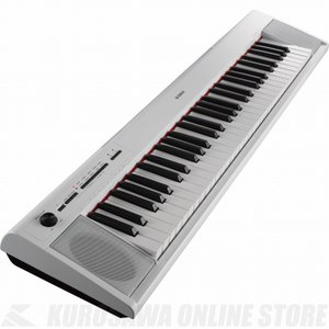 YAMAHA piaggero NP-12 (White) (61鍵キーボード)(送料無料)(マンスリープレゼント)(ご予約受付中)|honten