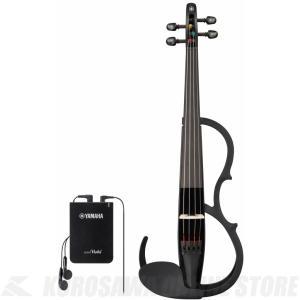 ヤマハ YAMAHA サイレントバイオリン YSV104S BL 弓・ハードケース・松脂付きセット (ご予約受付中)|honten