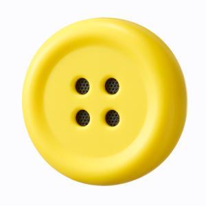 Pechat(ペチャット) ぬいぐるみをおしゃべりにするボタン型スピーカー イエロー おもちゃ クリスマスプレゼント (S:0040)|HonyaClub.com 雑貨館