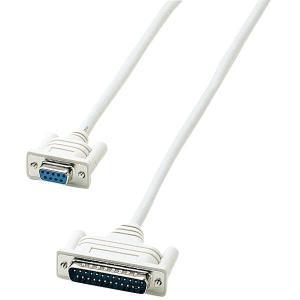 サンワサプライ RS-232Cケーブル(モデム・TA・周辺機器・1.5m) KRS-413XF1K (S:0230) honyaclub