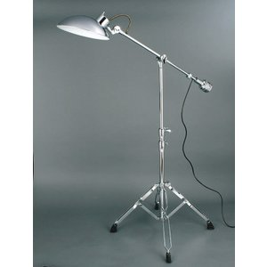 EXECUTIVE FLOOR LAMP CHROME エグゼクティブ フロアランプ  クローム ダルトン 100-258CR (S:0240)|honyaclub