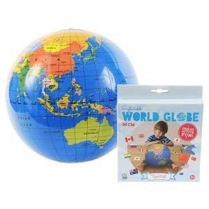 ビーチボール地球儀 30cm 知育玩具   (S:0040)|HonyaClub.com 雑貨館