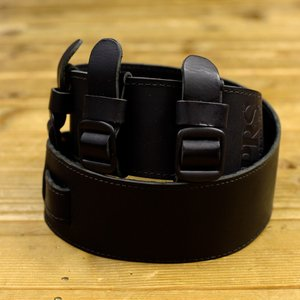 Paul Reed Smith ポールリードスミス ACC-3164 BK Leather Tri-Buckle Strap Black ギターストラップ|hoochies